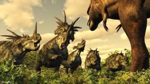 DaspletosaurusandStyracosaurus